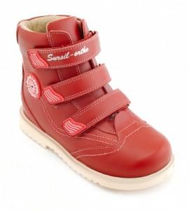 23-214 Детские ортопедические ботинки (утепленные, байка) Sursil-Ortho